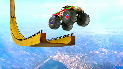 Mega Ramp Monster Truck Driving Stunts Racing Game 2.0.11 screenshots 6