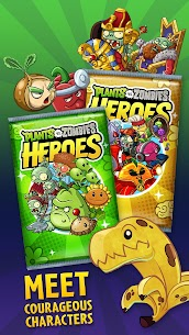 Download Plants vs. Zombies Heroes Zombies and Plants game: Android heroes mod 5
