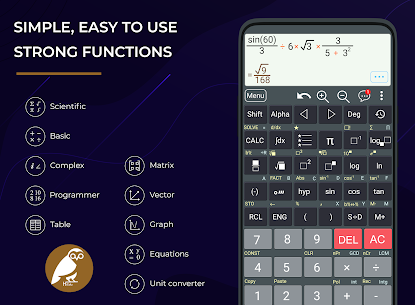 HiEdu Scientific Calculator Pro (MOD APK, Paid) v1.2.0 1