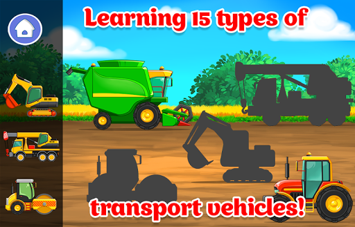 Kids Cars Games! Build a car and truck wash!  screenshots 2