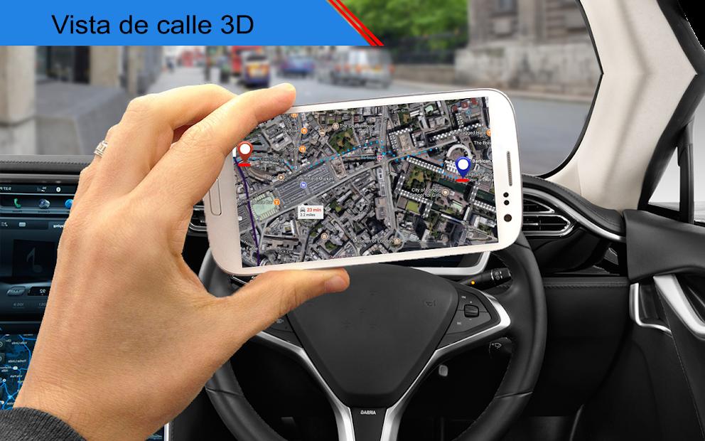 Screenshot 4 de vivir tierra calle ver mapa & ruta navegación para android
