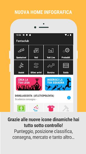 Code Triche Fantaclub APK MOD (Astuce) screenshots 4