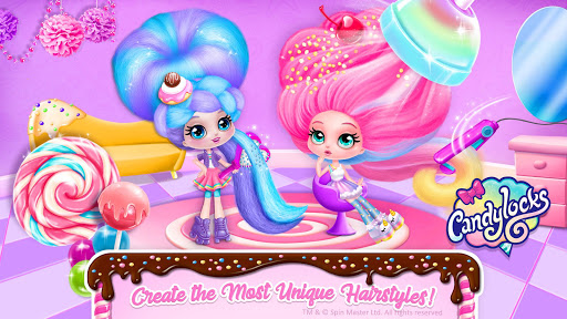 Candylocks Hair Salon - Style Cotton Candy Hair  Screenshots 3
