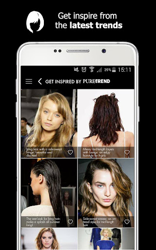 Style My Hair: Discover Your Next Look modavailable screenshots 6
