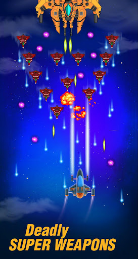 galaxy spaceship shooter - sky shooting game screenshot 3