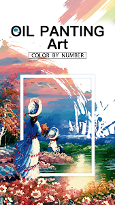 Oil Painting Art : Coloring Book & Color By Number 1.3