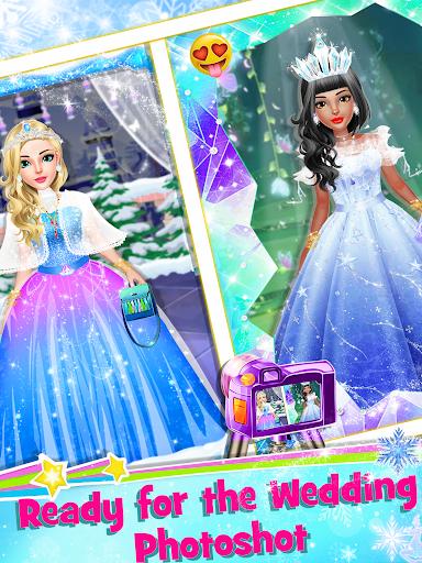 Ice Princess Wedding Dress Up Stylist 0.8 screenshots 4