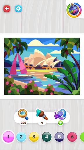 Color Stories - color journey, paint art gallery apkpoly screenshots 5