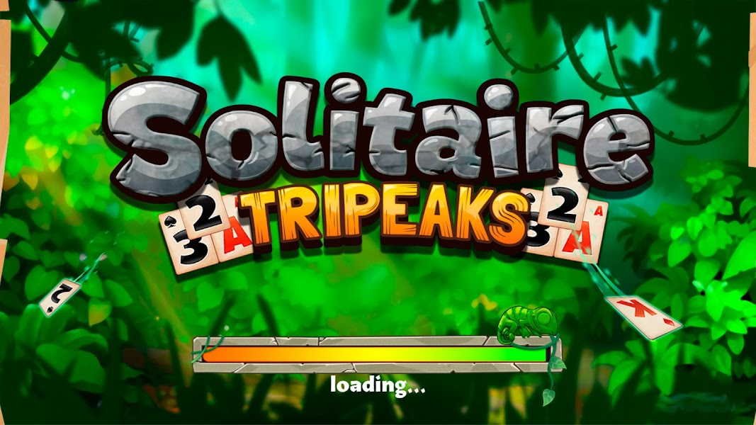 Solitaire Tripeaks - Lost Worlds Adventure