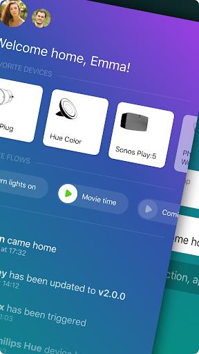 Homey u2014 A better smart home 6.1.0 Screenshots 2