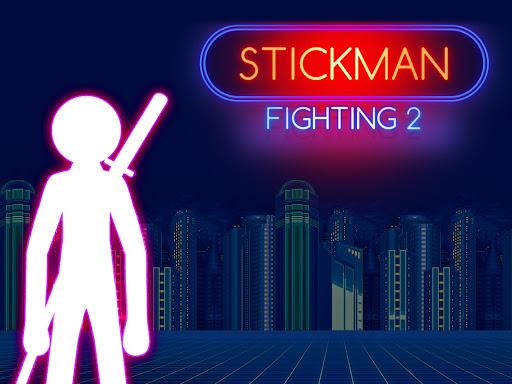 Stickman Fighting: 2 Player Funny Physics Games  screenshots 1