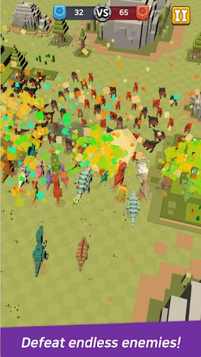 Dino Warfare : Rush! Dino Army  screenshots 2