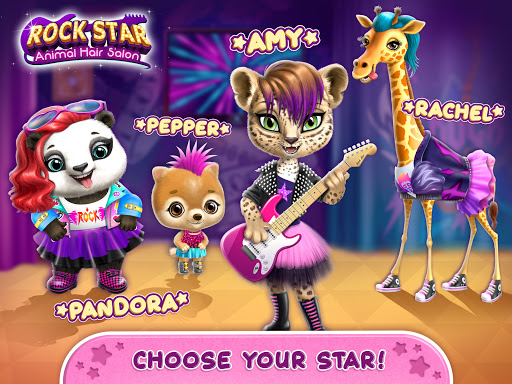Rock Star Animal Hair Salon - Super Style & Makeup 4.0.70031 screenshots 9