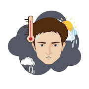 Thermometer for Fever check diary - Body Temp