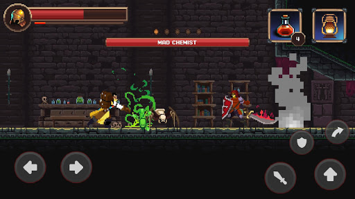 Mortal Crusade: Platformer with Knight Adventure Knight Adventure screenshots 3