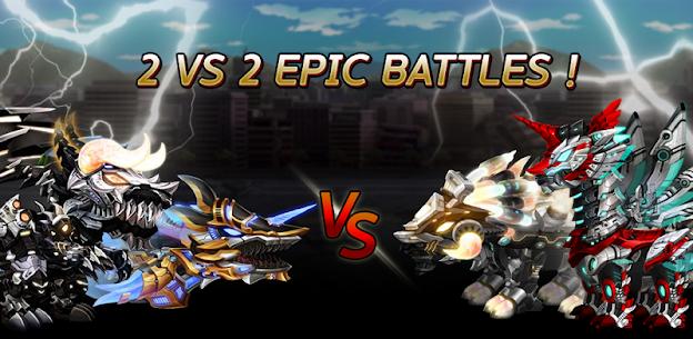 Dino War Iron T-Rex VS Tyranno Hack Cheats (iOS & Android) 4