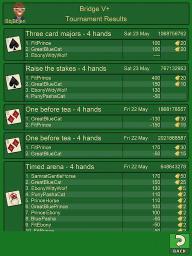 Bridge V+, bridge card game  screenshots 14