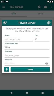 TLS Tunnel - Free and Unlimited VPN 3.6.3 APK screenshots 7