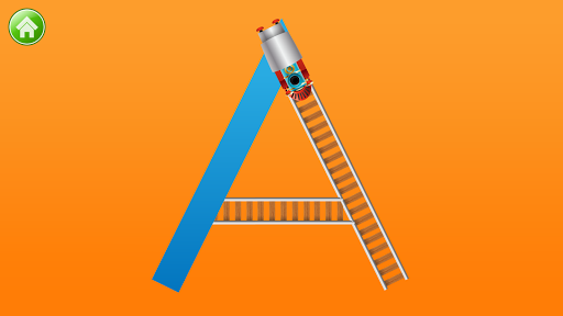 Learn Letter Names and Sounds with ABC Trains android2mod screenshots 2