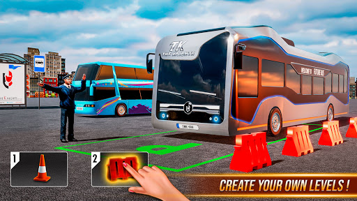 Modern Bus Simulator New Parking Games u2013 Bus Games  screenshots 3