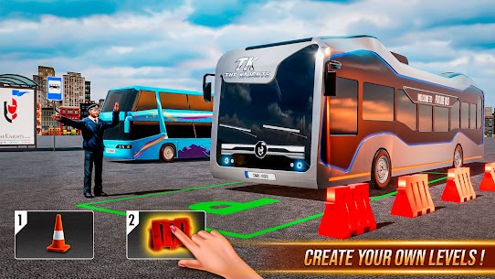Modern Bus Simulator New Parking Games – Bus Games 3
