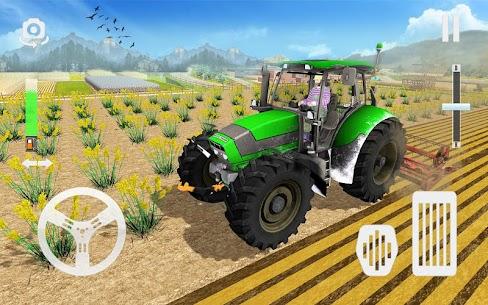Real Tractor Farming Game 2021  Modern Farmer Apk Download 4