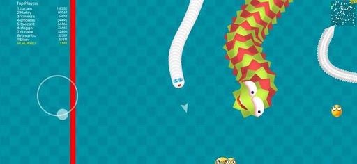 Worms Dash.IO-snake battle zone goodtube screenshots 2