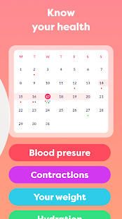 Pregnancy due date tracker with contraction timer 1.23.0 Screenshots 8
