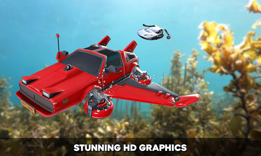 Floating Underwater Car Simulator  screenshots 24