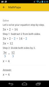 MathPapa Apk 2