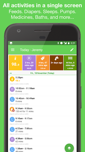 Feed Baby - Baby Tracker 2.1.5 Screenshots 4