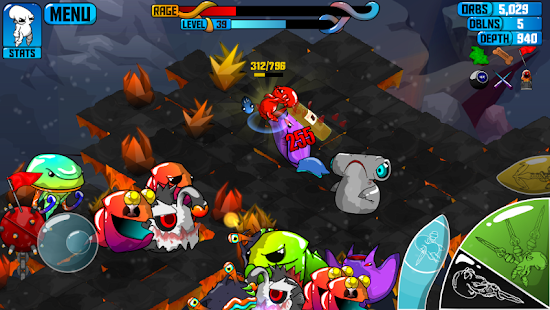 Quadropus Rampage Screenshot