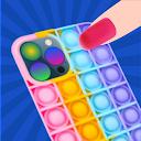 DIY Pop it MOBILE PHONE CASE FIDGET TOY GAME
