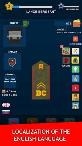 Get to the General - Clicker 1.76 screenshots 6