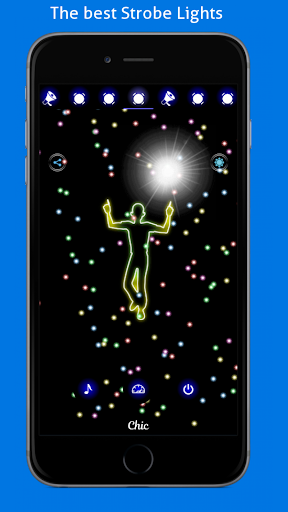 Disco Light: Flashlight with Strobe Light & Music 4.5 Screenshots 3