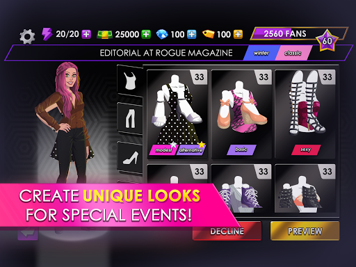 Fashion Fever - Dress Up, Styling and Supermodels 1.2.7 screenshots 8
