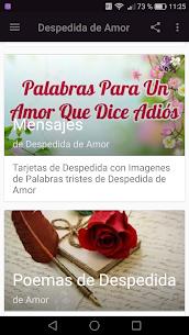 Frases de Despedida de Amor 💔 Adios Amor 2.5 Mod APK (Unlock All) 3