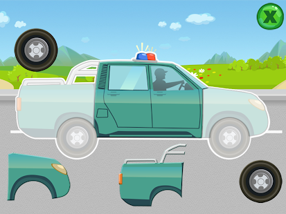 Car puzzles for toddlers