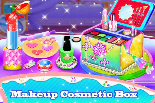 Makeup kit cakes : cosmetic box makeup cake games 1.0.13 screenshots 1
