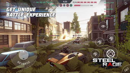 Steel Rage: Mech Cars PvP War, Twisted Battle 2020  screenshots 5