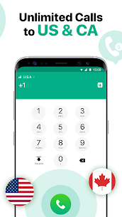 2nd Line: Second Phone Number for Texts & Calls Mod 21.10.0.1 Apk [Unlocked] 3