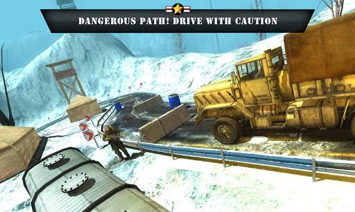 Truck Driver Army Game 2021 1.0.1 screenshots 1