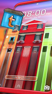 Colorful House Launcher Theme