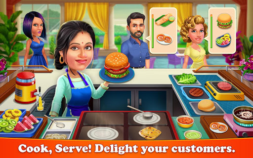 restaurant city: food fever - cooking games screenshot 1