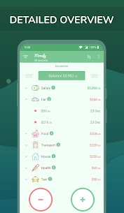 Monefy – Budget Manager and Expense Tracker app 2