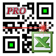 LoMag Data Scanner & Inventory. Barcodes to Excel  Icon