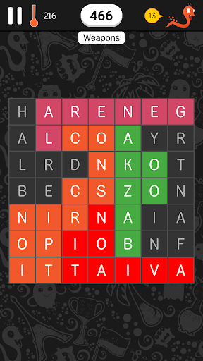 Find The Words - search puzzle with themes 2.7.5 screenshots 4