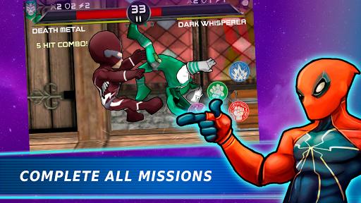 Télécharger Superheroes Vs Villains 3 - Jeu de combat gratuit APK MOD 2