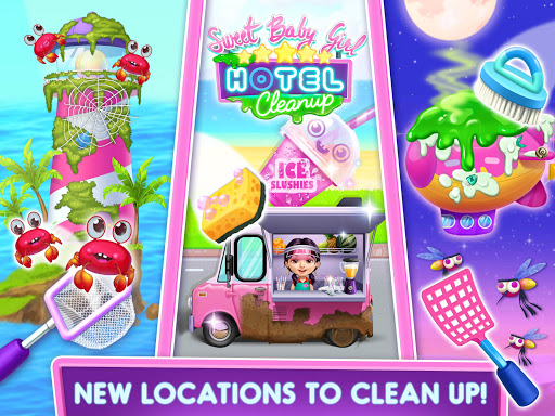 Sweet Baby Girl Hotel Cleanup - Crazy Cleaning Fun  screenshots 10