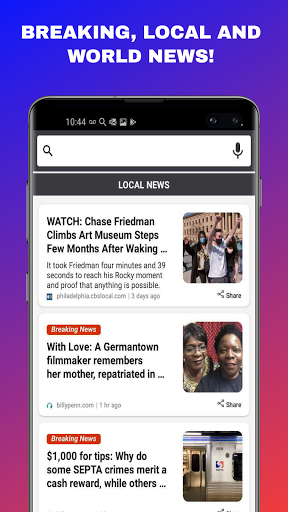 News Home - Local & World News on Your Home Screen android2mod screenshots 4